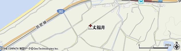 福岡県糸島市二丈福井周辺の地図
