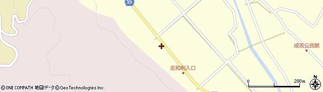 大分県国東市武蔵町成吉412周辺の地図