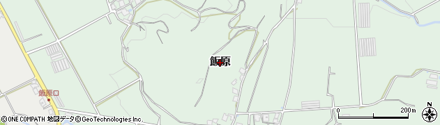 福岡県糸島市飯原周辺の地図