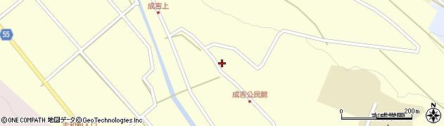 大分県国東市武蔵町成吉670周辺の地図
