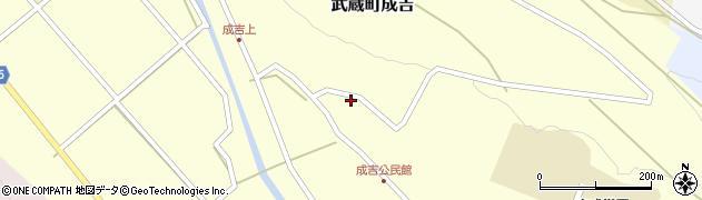 大分県国東市武蔵町成吉674周辺の地図