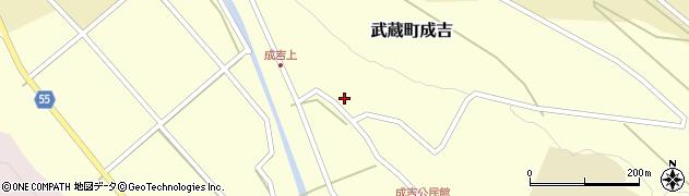 大分県国東市武蔵町成吉641周辺の地図