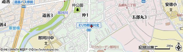 ヘアーズ・アズ周辺の地図