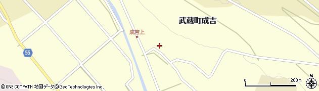 大分県国東市武蔵町成吉637周辺の地図