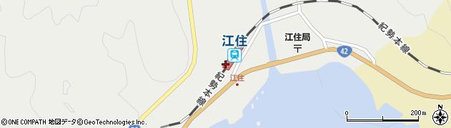 和歌山県西牟婁郡すさみ町周辺の地図