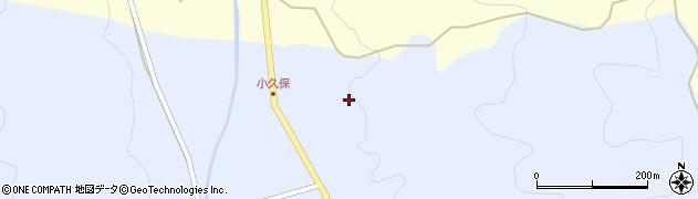 大分県国東市安岐町糸永小久保周辺の地図