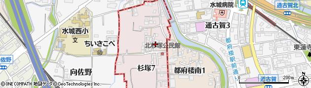 辻塗装店周辺の地図