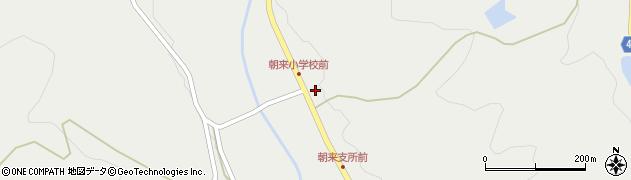 大分県国東市安岐町朝来32周辺の地図