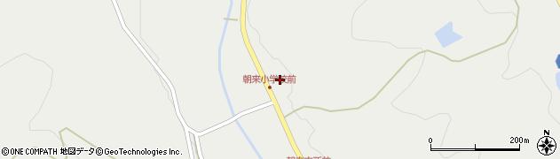 大分県国東市安岐町朝来144周辺の地図
