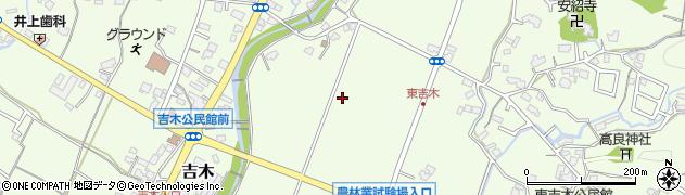 福岡県筑紫野市吉木周辺の地図