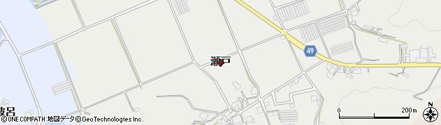 福岡県糸島市瀬戸周辺の地図