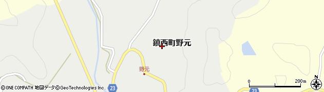佐賀県唐津市鎮西町野元周辺の地図