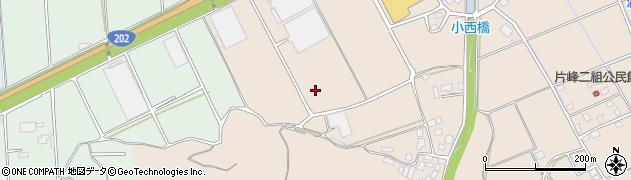 福岡県糸島市二丈上深江周辺の地図