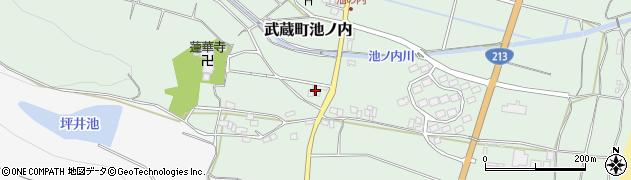 大分県国東市武蔵町池ノ内1494周辺の地図