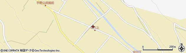 大分県国東市武蔵町手野605周辺の地図