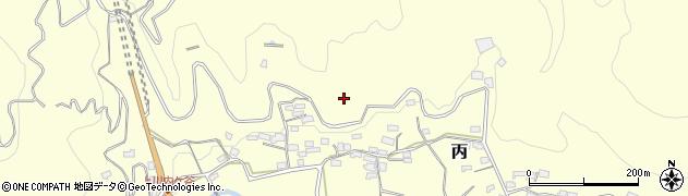 高知県高岡郡佐川町丙川内ケ谷下周辺の地図