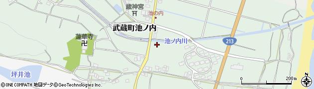 大分県国東市武蔵町池ノ内1713周辺の地図