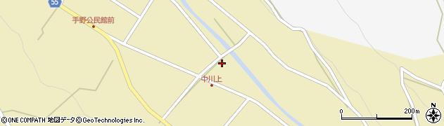 大分県国東市武蔵町手野518周辺の地図