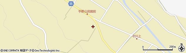 大分県国東市武蔵町手野728周辺の地図