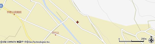 大分県国東市武蔵町手野300周辺の地図