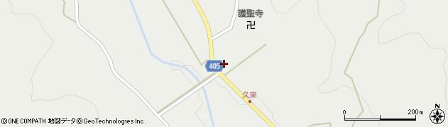 大分県国東市安岐町朝来573周辺の地図
