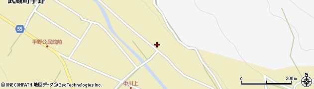大分県国東市武蔵町手野170周辺の地図