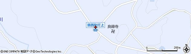 佐賀県唐津市鎮西町打上周辺の地図