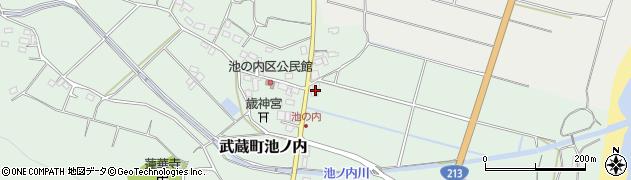 大分県国東市武蔵町池ノ内143周辺の地図