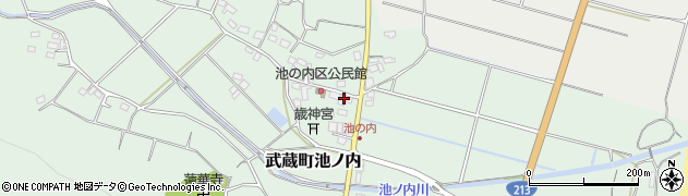 大分県国東市武蔵町池ノ内399周辺の地図