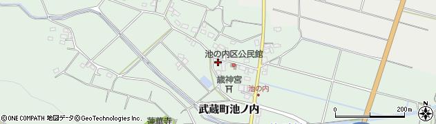 大分県国東市武蔵町池ノ内404-4周辺の地図