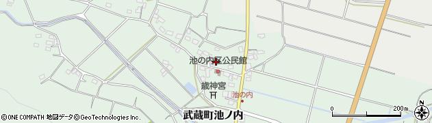 大分県国東市武蔵町池ノ内394周辺の地図