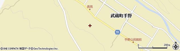 大分県国東市武蔵町手野1455周辺の地図