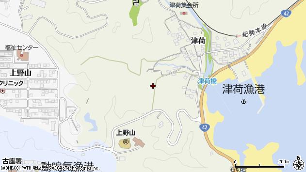 〒649-4113 和歌山県東牟婁郡串本町津荷の地図