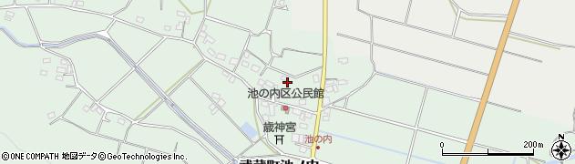大分県国東市武蔵町池ノ内174周辺の地図