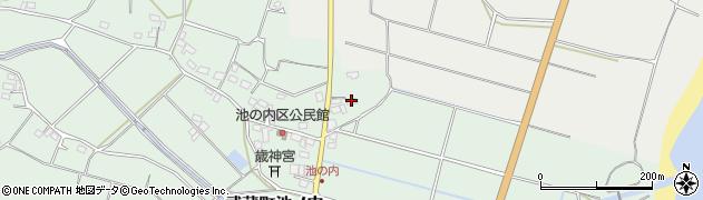 大分県国東市武蔵町池ノ内190周辺の地図