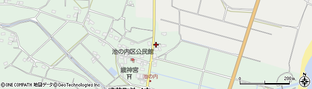 大分県国東市武蔵町池ノ内187周辺の地図