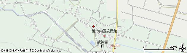 大分県国東市武蔵町池ノ内381周辺の地図