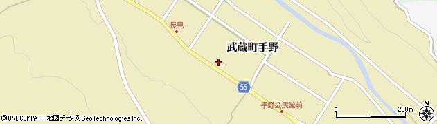 大分県国東市武蔵町手野820周辺の地図