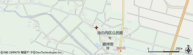 大分県国東市武蔵町池ノ内380周辺の地図