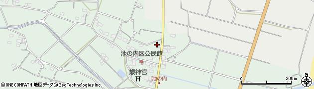 大分県国東市武蔵町池ノ内188周辺の地図