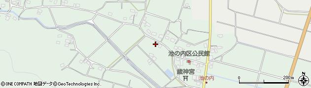 大分県国東市武蔵町池ノ内453周辺の地図