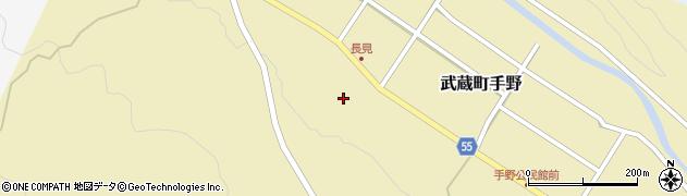 大分県国東市武蔵町手野1434周辺の地図