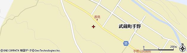 大分県国東市武蔵町手野1436周辺の地図