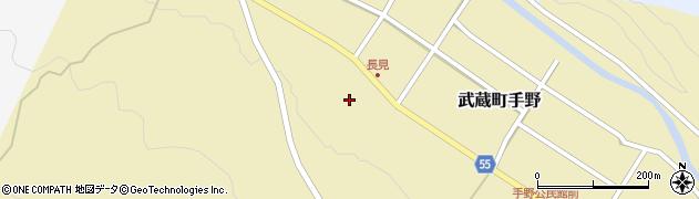 大分県国東市武蔵町手野1431周辺の地図