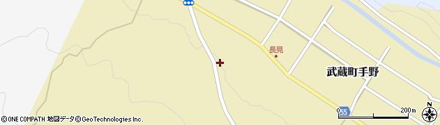 大分県国東市武蔵町手野1385周辺の地図