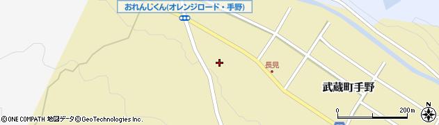 大分県国東市武蔵町手野1403周辺の地図