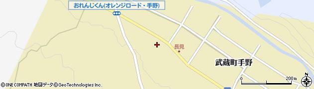 大分県国東市武蔵町手野1407周辺の地図