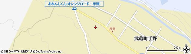 大分県国東市武蔵町手野1406周辺の地図
