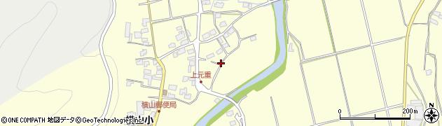 大分県宇佐市上元重周辺の地図
