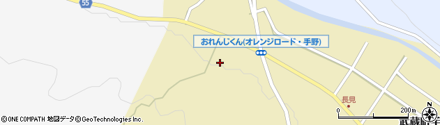 大分県国東市武蔵町手野1197周辺の地図
